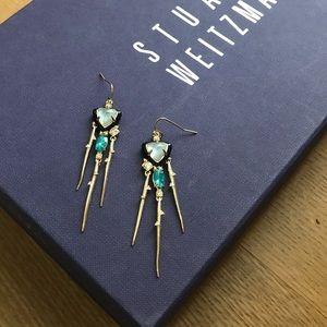 Alexis Bittar Shakey Stick Drop Earrings